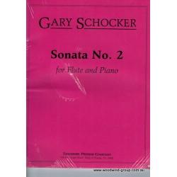 Schocker Sonata No. 2 Op 32 1993 Flute/Pno