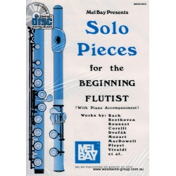 Solo Pieces For The Beginning Flautist  (Ed. Mccaskill/Gilliam) M Bay
