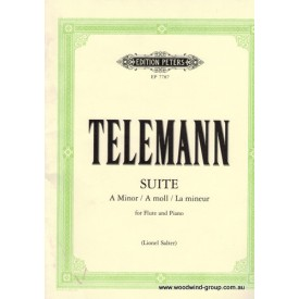 Telemann G P Suite In A Minor (Peters)