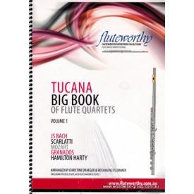 Tucana Big Book Of Flute Quartets (Score & Parts) Fluteworthy