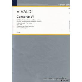 Vivaldi A. Concerto In G Maj Op 10 No.6 (Schott)