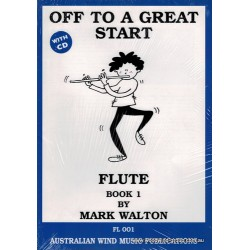 Walton M. Off To A Great Start For Flute Bk One (Cd)