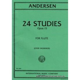 Andersen J 24 Studies Op 15 (IMC)