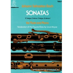 Bach J.S. Sonatas Vol 2 (Schirmer) Fl/Pno