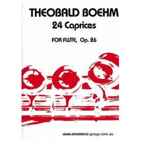 Boehm 24 Capriccios Op 26 (Fischer)