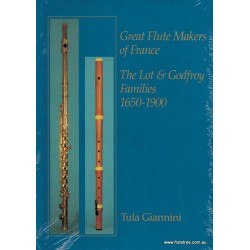 Great Flutemakers of France - Giannini