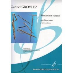 Grovlez G. Romance Et Scherzo Fl/Pno Billaudot