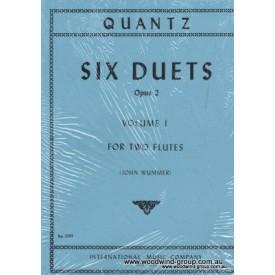 Quantz, J. Six Duets Opus 2 (IMC)