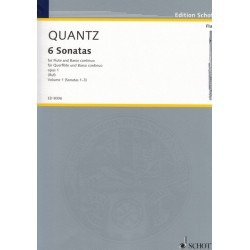 Quantz J. Collection of 6 Sonatas Op. 1 Vol. 1 (1-3)