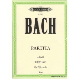 Bach J.S. Partita A minor (Sonata) Peters Urtext