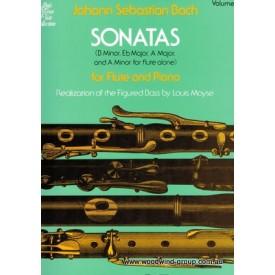 Bach J.S. Sonatas Vol 1 (Schirmer) Fl/Pno
