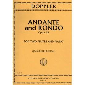 Doppler F. Andante & Rondo Op 25 For 2 Flutes (IMC)