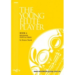 North,Karen.  The Young Flute Player  Book 4