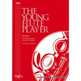 North,Karen.  The Young Flute Player Vol 5