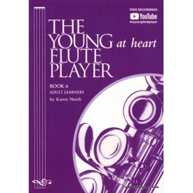 North, Karen.  The Young Flute Player  Vol 6